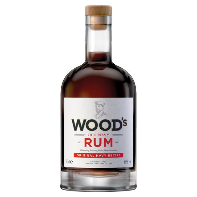 Morrisons Woods 100 Navy Rum 70clproduct Information