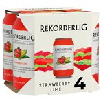 Rekorderlig Strawberry & Lime Cans