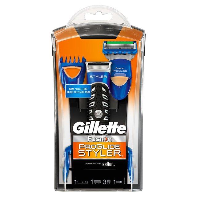 Gillette Fusion5 Proglide Styler- Razor, Beard Trimmer and Edger For Men
