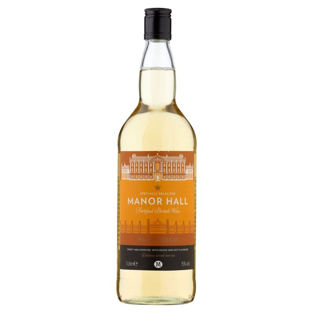 Morrisons Pale Cream British Fortified Wine
