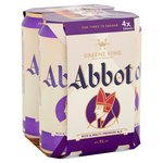 Abbot Ale Cans