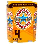 Newcastle Brown Ale Cans