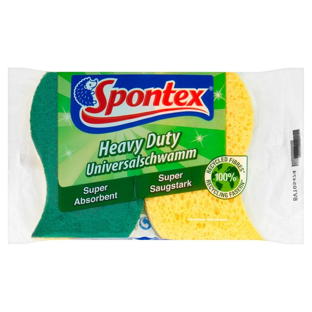 Spontex Heavy Duty Super Absorbent Scourer