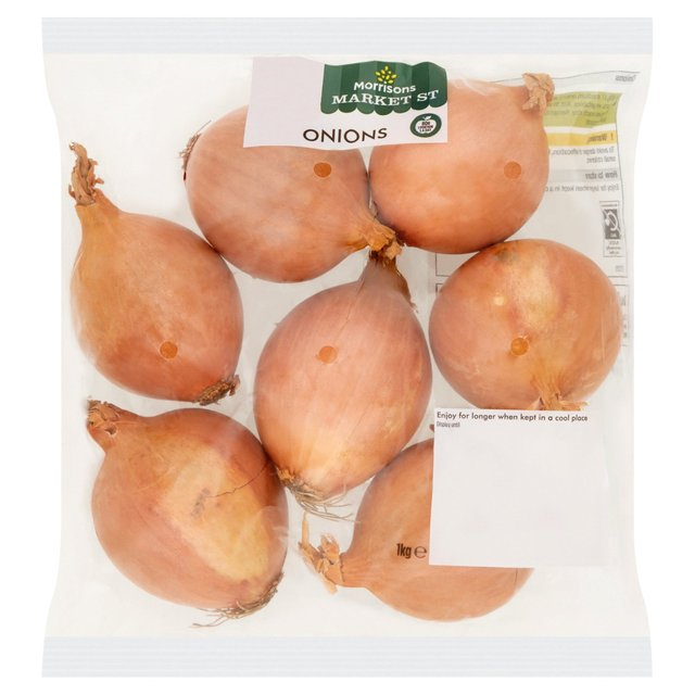 Morrisons Brown Onions