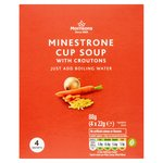 Morrisons Minestrone Cup Soup with Croutons
