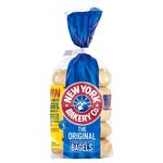 New York Bakery Co Original Bagels