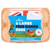 Morrisons Free Range Eggs Large