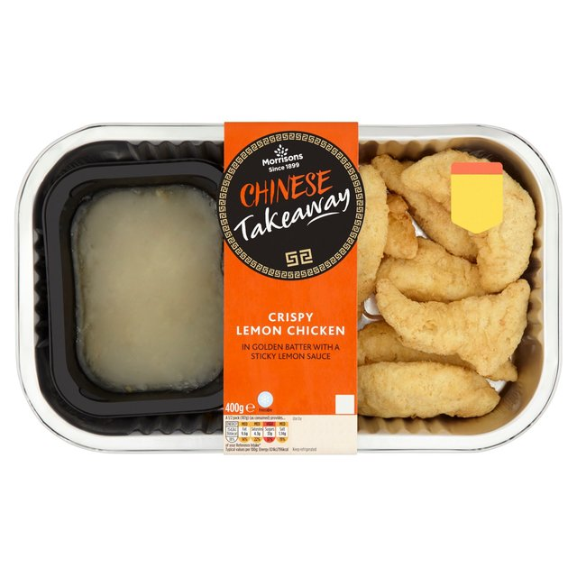 Morrisons: Morrisons Crispy Lemon Chicken 400g(Product Information)