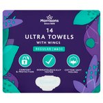 Morrisons Normal Ultra Towels with Wings