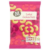 Morrisons Salted Cashews