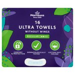 Morrisons Normal Ultra Towels without Wings