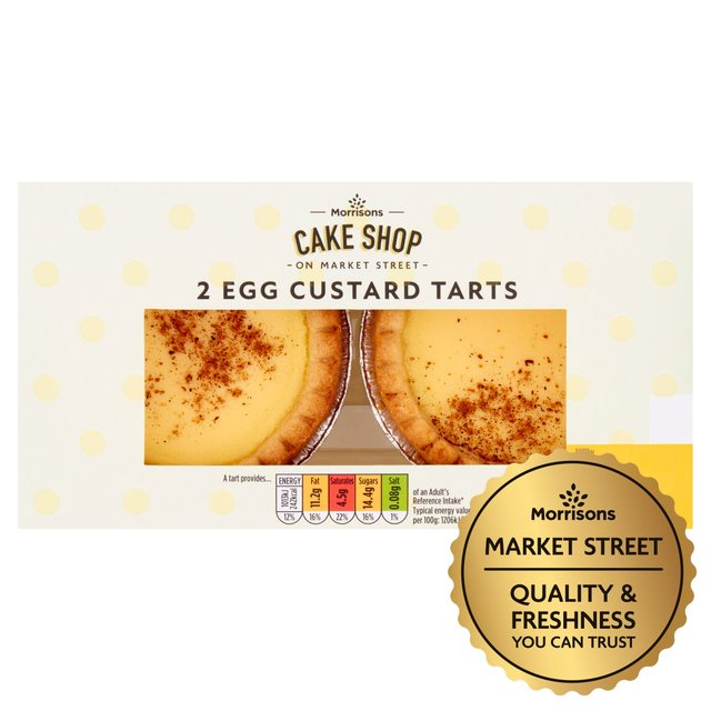 Morrisons Egg Custard Tarts