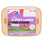 Morrisons Free Range Eggs Extra Large