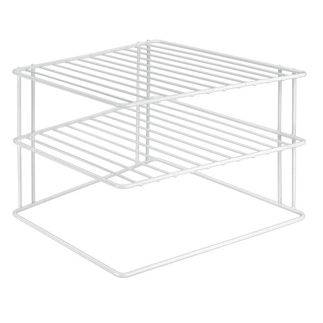 Morrisons Metaltex Plate Stacker White Product Information