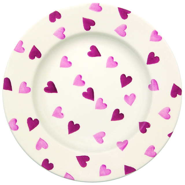 Emma Bridgewater Pink Hearts Plate 21.5cm