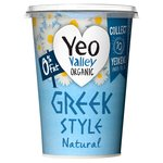 Yeo Valley 0% Fat Greek Style Natural Yogurt