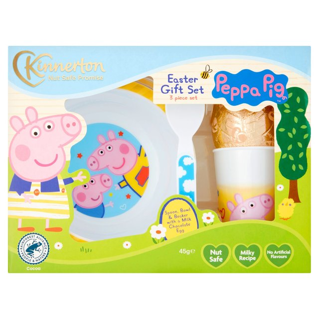 Morrisons peppa pig meal time set egg product information peppa pig meal time set egg negle Image collections