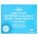 Morrisons One-a-Day Hay Fever Relief Tablets