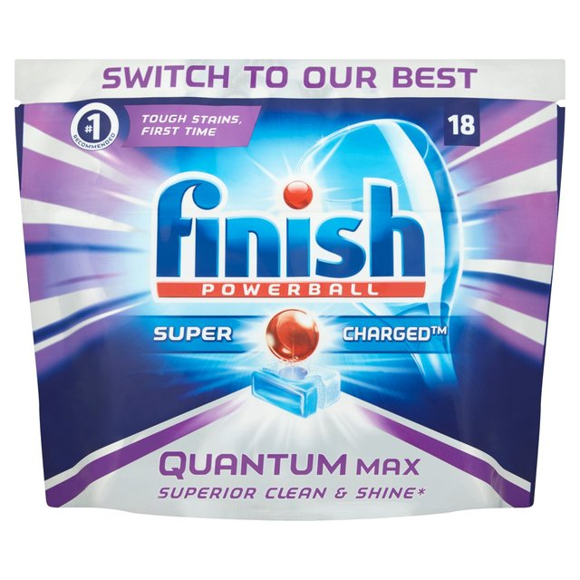 Finish Quantum Max Original Dishwasher Tablets ...