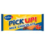 Bahlsen PiCK UP! Milk Chocolate Biscuit Bars