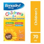 Benadryl For Children Allergy Solution