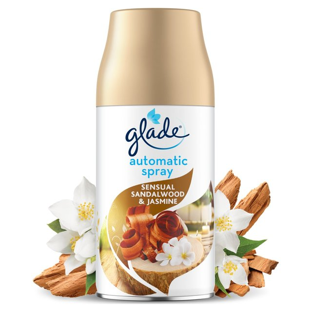 Glade Automatic Spray Refill Sandalwood & Jasmine Air Freshener