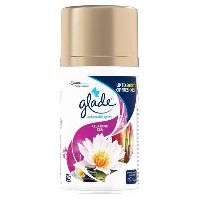 Relaxing Room Spray: Morrisons: Glade Relaxing Zen Automatic Spray Refill Air