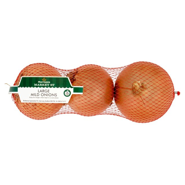 Morrisons Large Mild Brown Onions