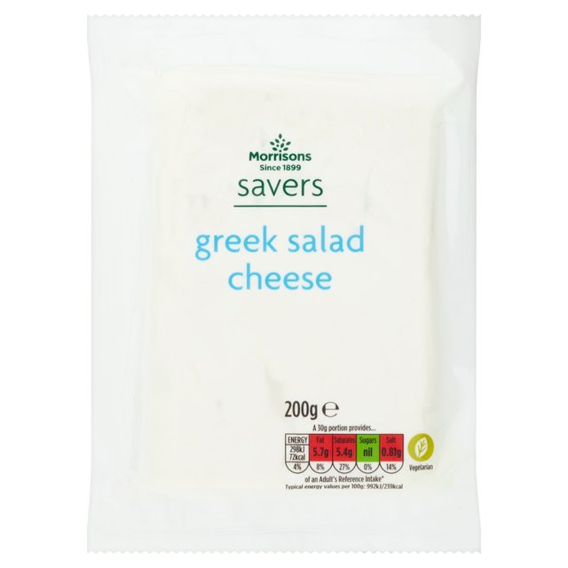 Morrisons Savers Greek Style Salad Cheese