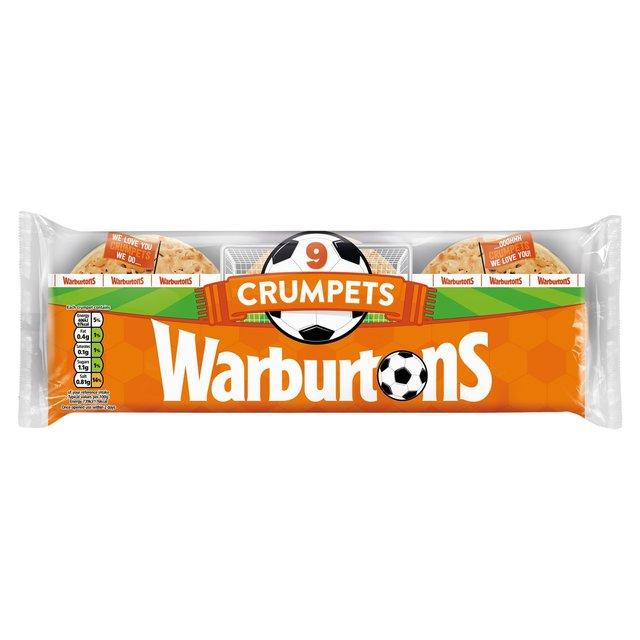 MORRISONS > Bakery > Warburtons 9 Crumpets