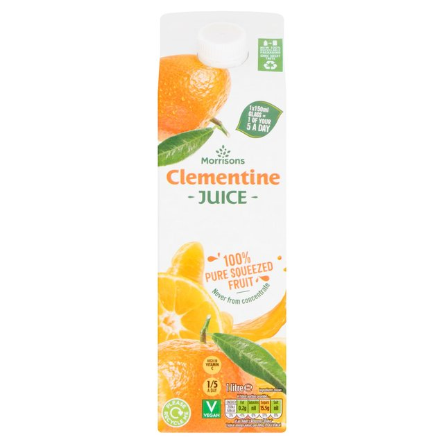 Morrisons 100% Fruit Clementine Juice