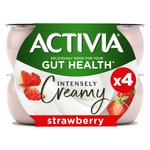 Activia Intensely Creamy Strawberry Yogurts