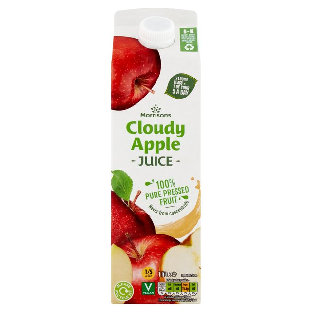 Morrisons 100% Cloudy Apple Juice