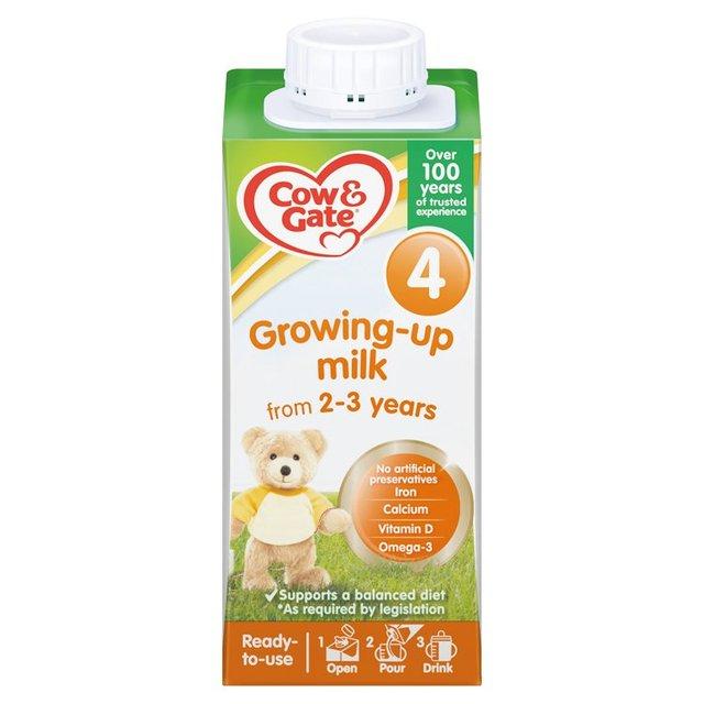 Morrisons Cow Amp Gate 4 Growing Up Milk Formula 200ml