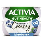 Activia Intensely Creamy Blueberry Yogurts