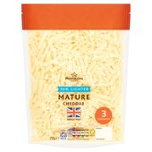 Morrisons 30% Lighter Mature Grated Cheese