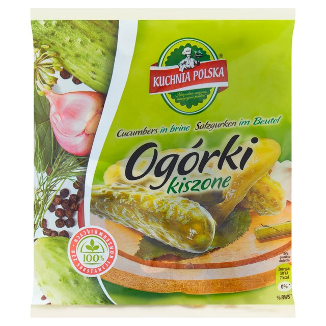Kuchnia Polska Pickled Cucumbers