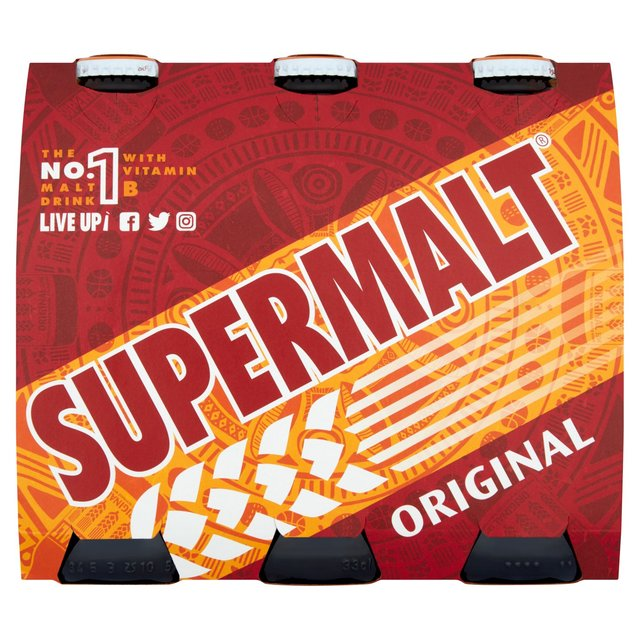 Supermalt Original Bottles