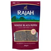 Rajah Whole Black Pepper