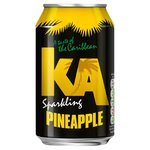 KA Sparkling Pineapple Drink
