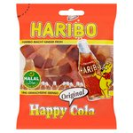 Haribo Halal Happy Cola Bottles