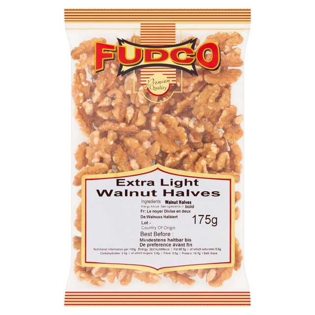 Morrisons: Fudco Extra Light Walnut Halves 175g(Product ...