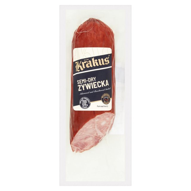 Krakus Zywiecka Polish Cooked And Dried Pork Sausage