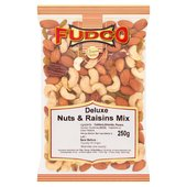 Fudco Deluxe Nuts & Raisins Mix