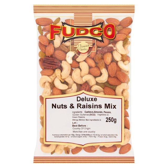 Fudco Deluxe Nuts & Raisins Mix