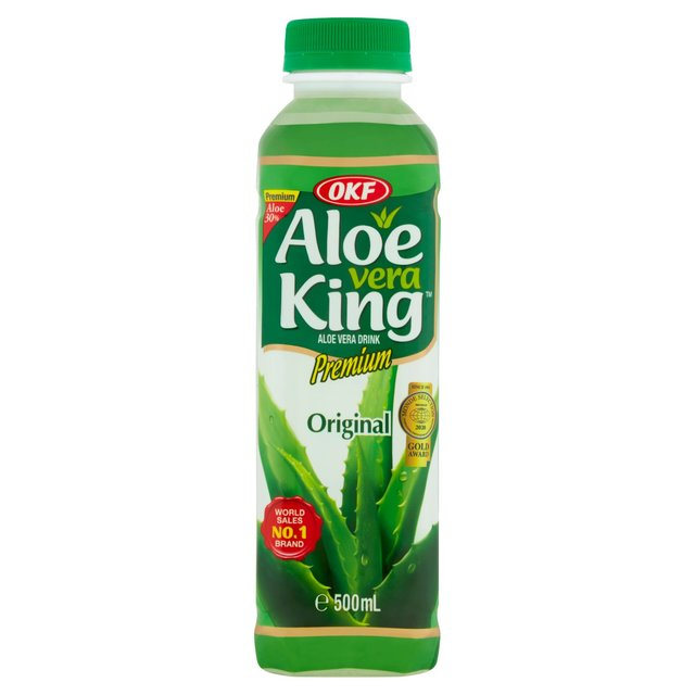 morrisons okf aloe vera juice drink 500ml product information. Black Bedroom Furniture Sets. Home Design Ideas