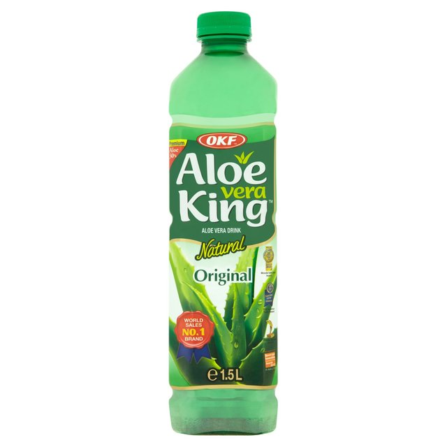 morrisons okf aloe vera juice drink 1 5l product information. Black Bedroom Furniture Sets. Home Design Ideas