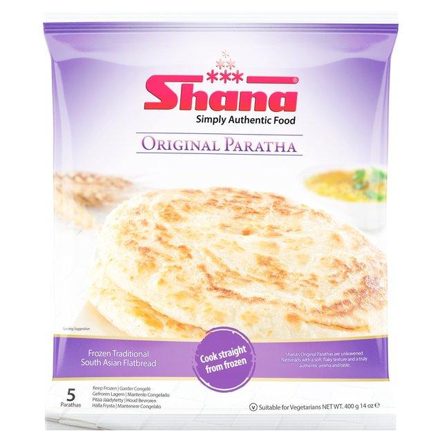 Morrisons: Shana Original Paratha 400g(Product Information)