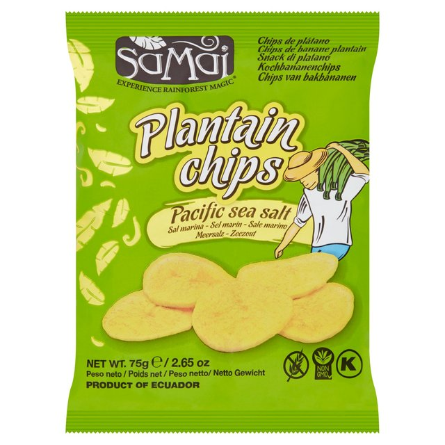 Samai Plantain Salted Chips