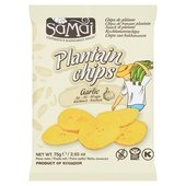 Samai Plantain Garlic Chips